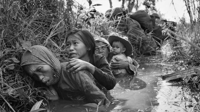 Foto de Horst Faas, el editor gráfico de AP en Vietnam