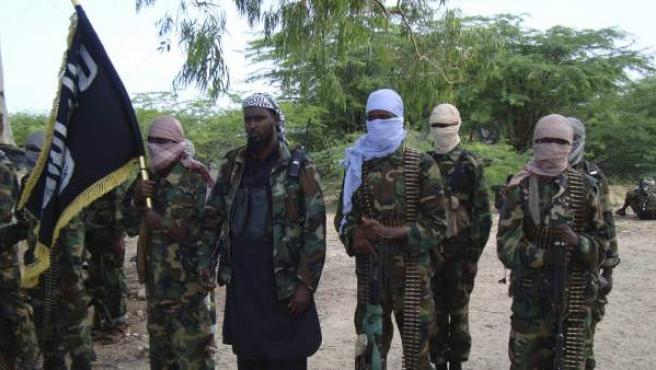 Milicianos de Al Shabab en Somalia, en una imagen de 2010.