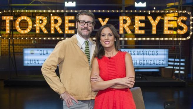 La periodista Mara Torres y el cómico Joaquín Reyes.