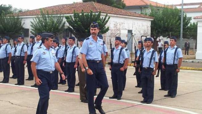 Principe Felipe en Talavera la Real