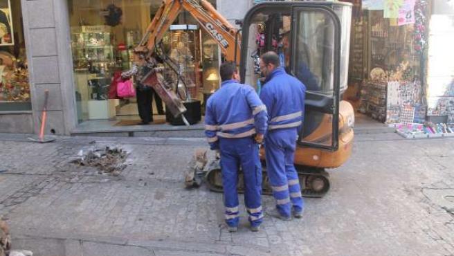 Trabajo, trabajadores, crisis, paro, Toledo trabajo