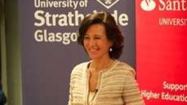 Ana Patricia Botín, consejera delegada de Santander UK