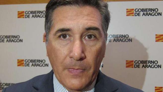 El consejero de Sanidad de Aragón, Ricardo Oliván