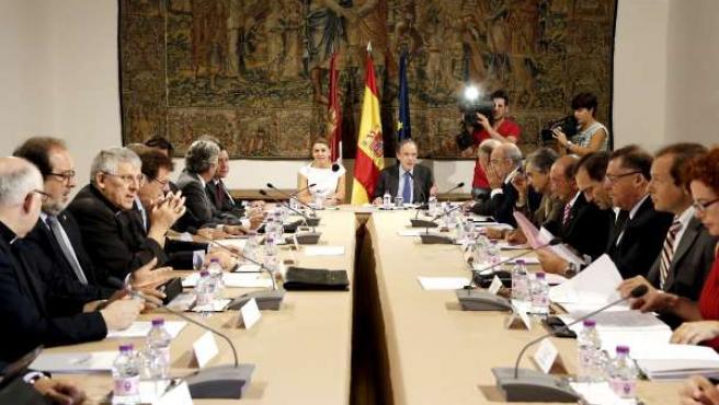 Cospedal preside la reunión del Patronato de la Fundación El Greco