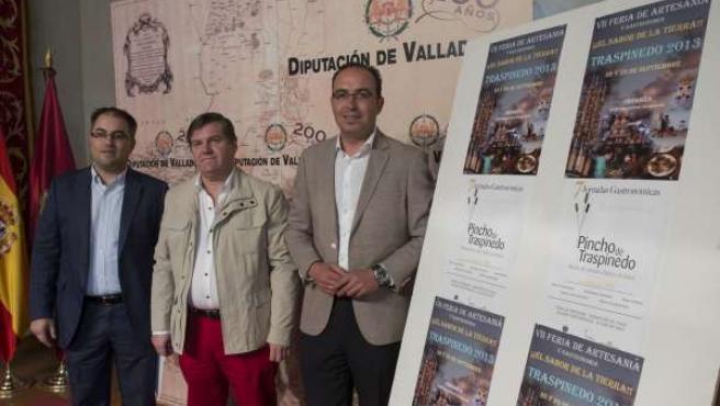 Presentación de la VII Feria 'El Sabor de la Tierra' de Traspinedo