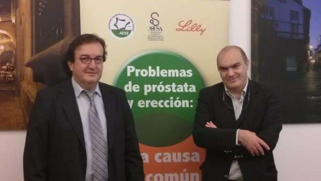 Presentación del informe sobre problemas de próstata y erección en Santiago