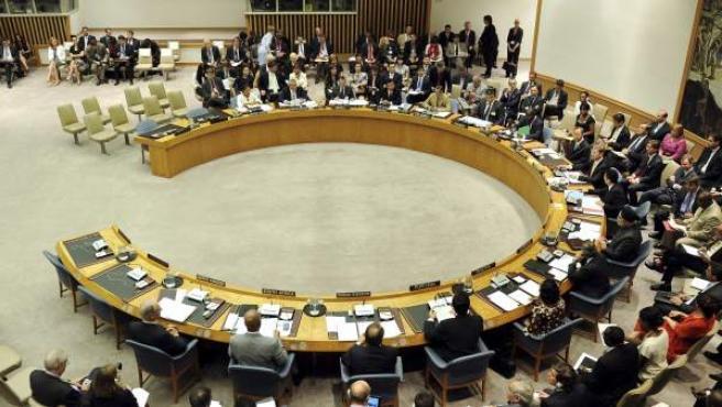 Vista general de la reunión del Consejo de Seguridad de la ONU.