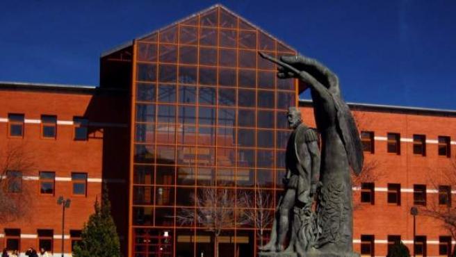 Campus de la Universidad Rey Juan Carlos, en Vicálvaro (Madrid).