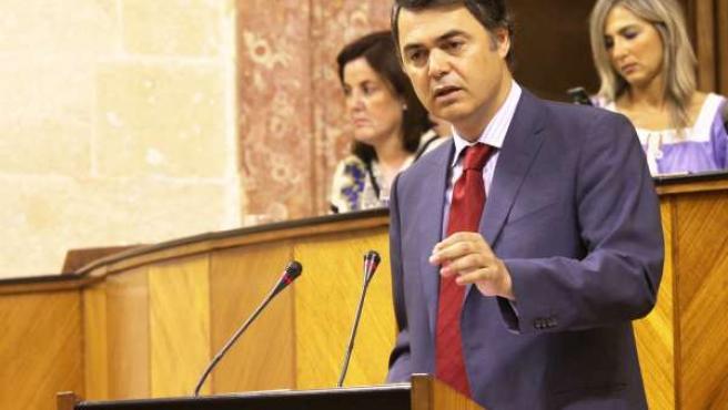Carlos Rojas Interviene Ante El Pleno Del Parlamento
