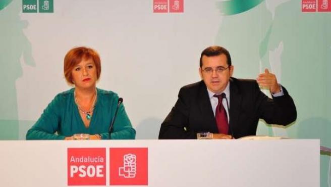 Nieves Masegosa y Miguel Castellano