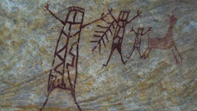 Pinturas rupestres de Piauí.