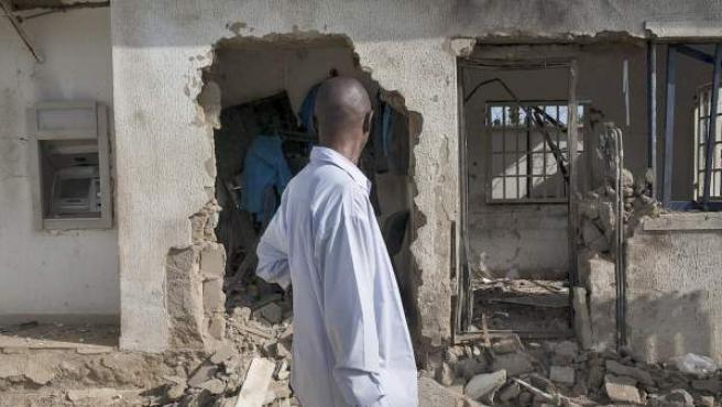 Imagen de un ataque reciente en Nigeria.