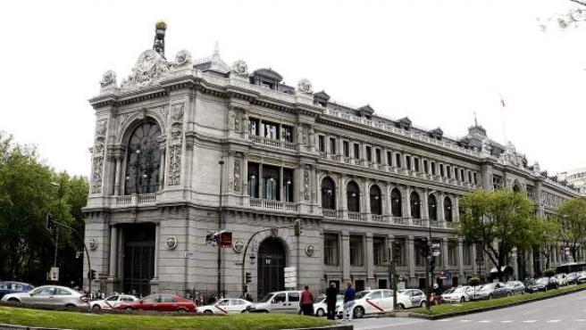 Imagen de archivo de la sede del Banco de España.