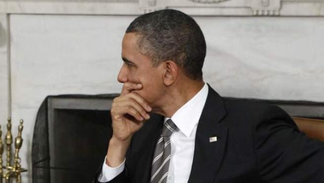 El presidente de EE UU, Barack Obama, y el primer ministro israelí, Benjamin Netanyahu.