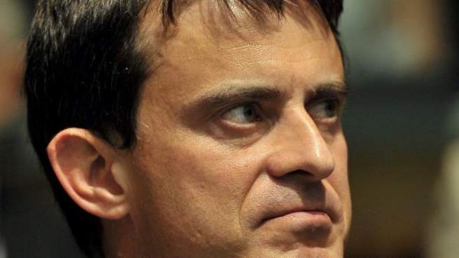 El ministro francés de Interior, Manuel Valls.