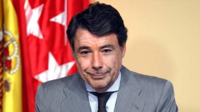 Ignacio González, presidente de la Comunidad de Madrid.