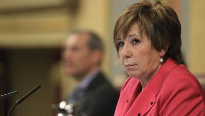 La vicepresidenta primera del Congreso, Celia Villalobos.