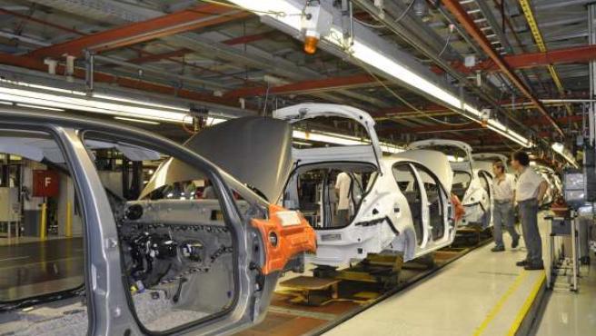 Cadena de montaje de Opel