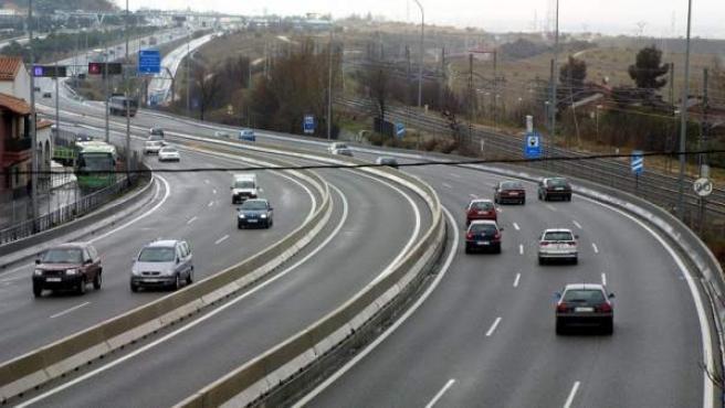 Imagen de la autovía de A Coruña, la A-6.