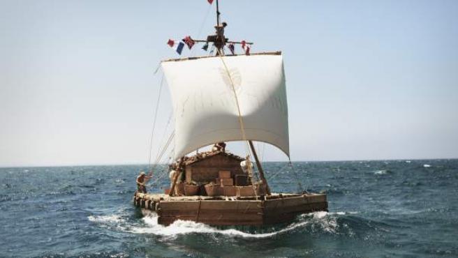 Escena de la película 'Kon-Tiki'.