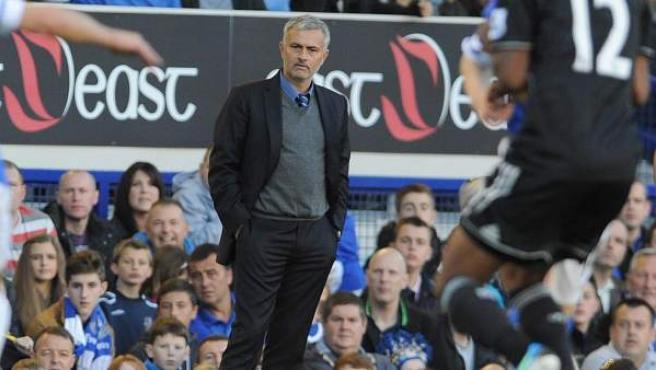 José Mourinho, técnico del Chelsea.