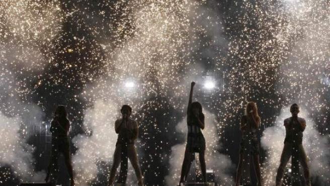 Imagen de unos ensayos de Eurovisión.