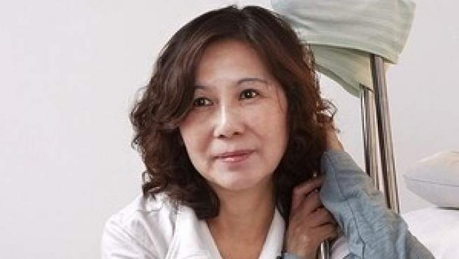 Imagen publicada en la web de la ONG Chinese Human Rights Defenders de la activista china Ni Yulan.