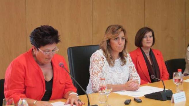 Presidenta de la Junta, Susana Díaz, en Órgiva