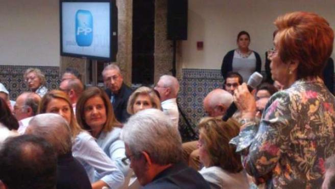 Báñez en Toledo con pensionistas