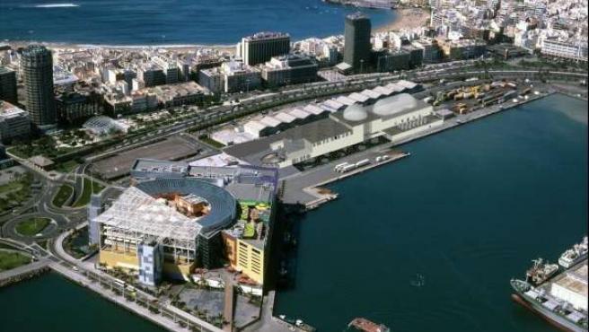 Proyecto del acuario de Las Palmas de Gran Canaria