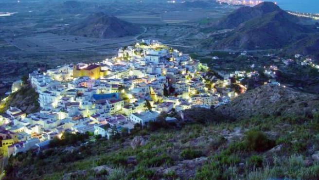 La localidad de Mojácar.