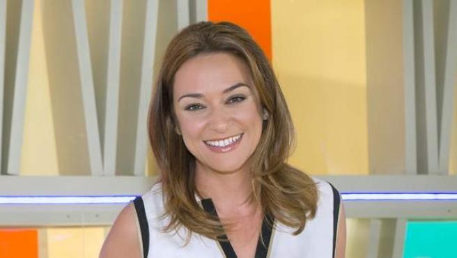 La presentadora de 'Entre todos', Toñi Moreno.