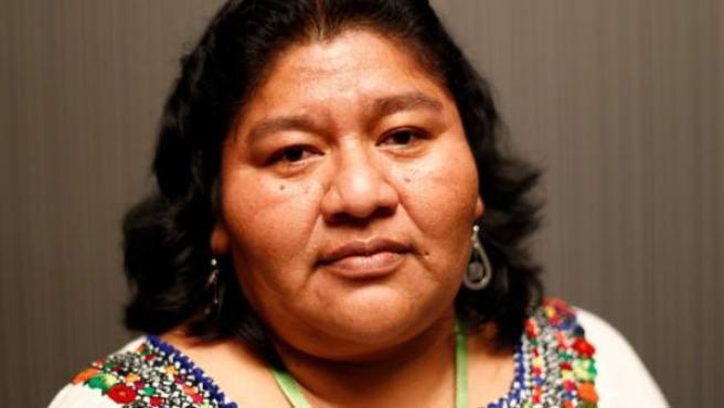 Raquel Vásquez reivindica que las mujeres guatematecas tengan derecho a la propiedad de la tierra, acceso a créditos y participación en las decisiones.