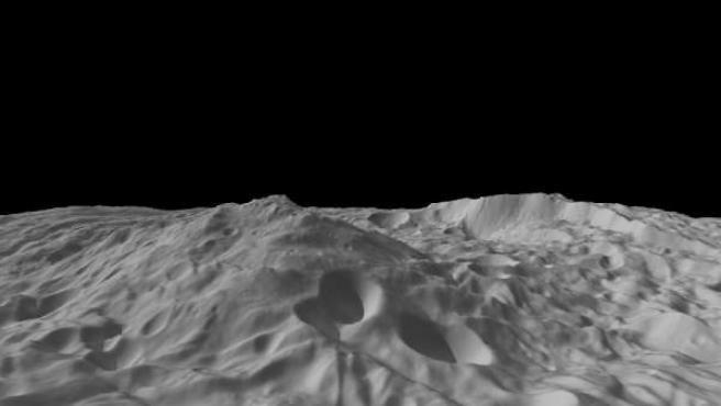 El asteroide Vesta, en una imagen de archivo.