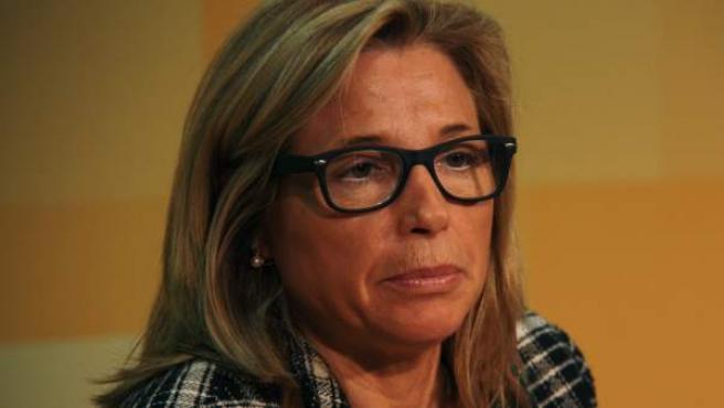 Joana Ortega, vicepresidenta del Govern de la Generalitat de Catalunya.