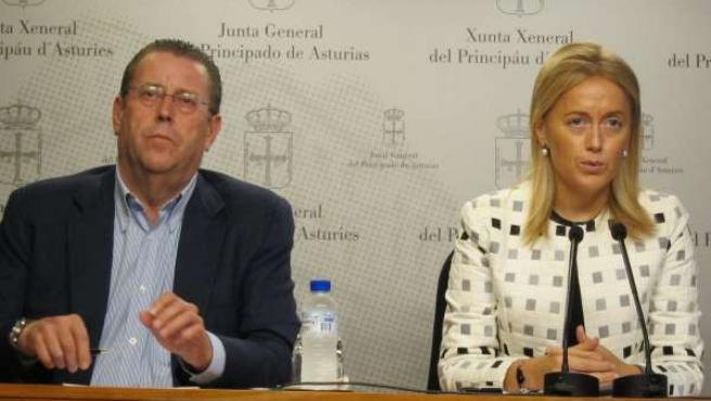 Pelayo Roces y Cristina Coto