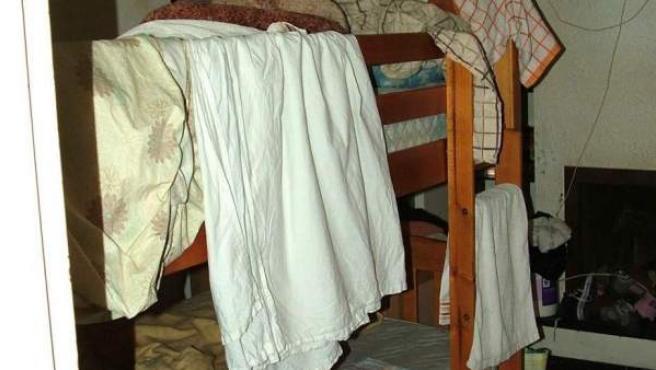 Imagen de archivo de la habitación de un prostíbulo.
