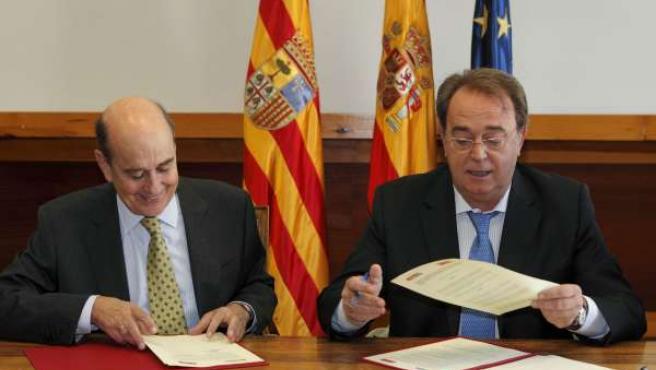 Rafael Fernández de Alarcón y Carlos Pérez Anadón