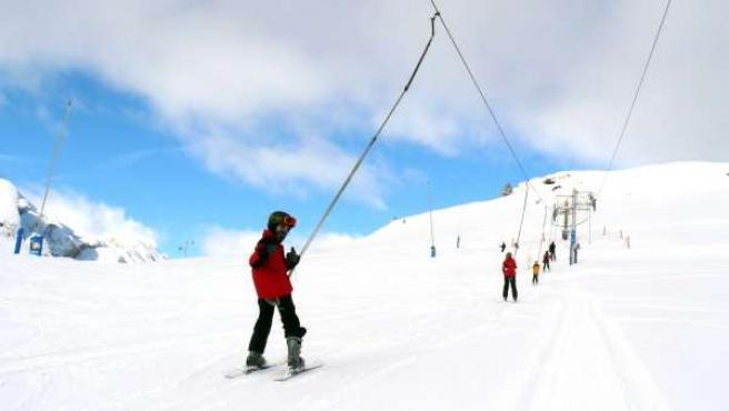 Estación de esquí de Candanchú (Huesca)