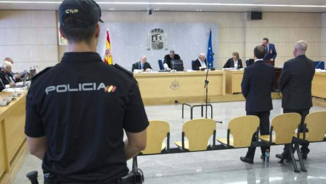 Imagen del juicio por el caso Faisán.