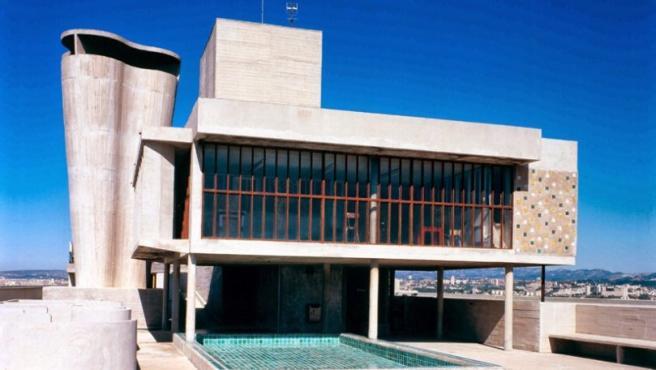 Azotea de la 'Unité d'Habitation' ('Unidad de habitación'), el único edificio de Le Corbusier en Marsella