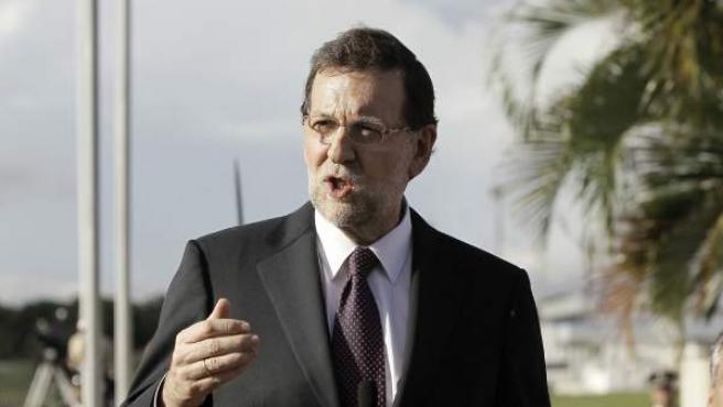 Rajoy llega Panamá para asistir a la Cumbre Iberoamericana.
