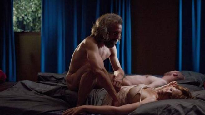 Una escena de la película ganadora, 'Borgman'.