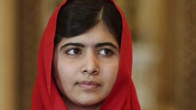 Malala en una recepción oficial.