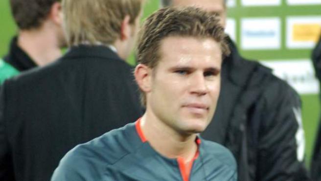 El árbitro alemán Felix Brych.