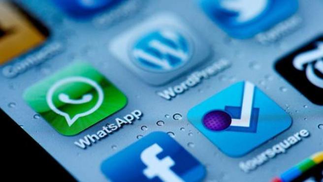 Logotipo de la aplicación Whatsapp.