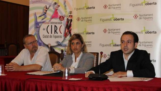 Presentación del Festival Internacional de Circo de Figueres (Girona)