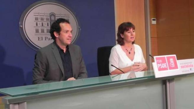 Marc Pons y Francina Armengol