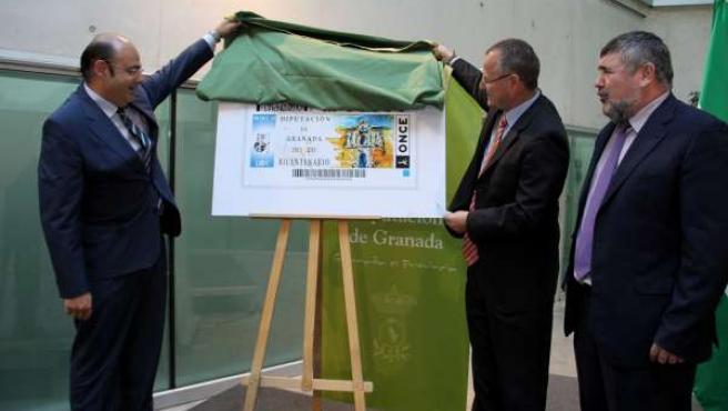 La ONCE dedica un cupón al Bicentenario de Diputación