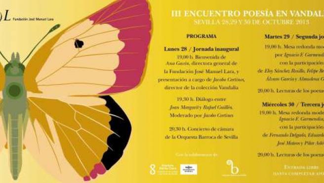 Joan Margarit y Rafael Guillén en los III Encuentro Poesía en Vandalia